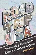 Road Trip USA: Cross-Country Adventures on America's Two-Lane Highways-ExLibrary