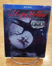 Sleepy Hollow Steelbook Blu-ray FYE exclusive-Tim Burton Johnny Depp, Sealed!