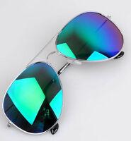 New Unisex Women Men Vintage Retro Fashion Aviator Metal Mirror Lens Sunglasses