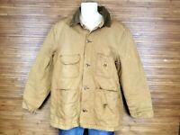 Vtg Big Ben Men's Brown Wrangler Jacket Blanket Lined Sz 42
