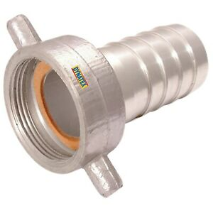 """2"""" BSP Coupling Water Pump Female Hose Tail Connector 50mm Suction Layflat NEW"""