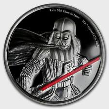 Niue- 2017 - Silver $5 Proof Coin- 2 OZ Star Wars Darth Vader