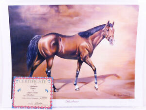 'Barbaro' by Angelo Marino Signed #28/100 Limited Edition Lithograph with COA
