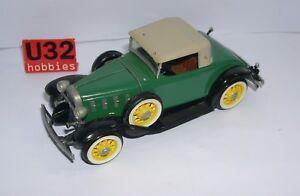 Life -like C291-70U N Gauge Building Kit 1/32 Chevrolet Chevy Cabriolet 1932 MT