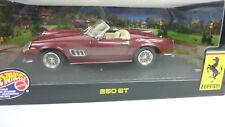 Hotwheels Mattel 1:18 Ferrari 250 GT California dunkelrotmetallic in OVP (A260)