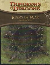 Dragones & Dragons-d&d - ruina of War-mazmorra tiles-Battlefield-RPG-tabletop - New