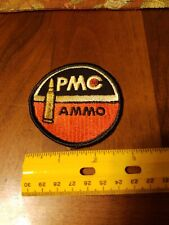 "Vintage PMC Ammo Patch 3"" Hunting Hat Bag Jacket"