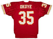 Christian Okoye 1990 Game Worn Kansas City Chiefs Home Jersey MEARS A5 LOA