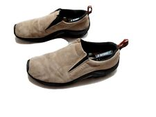 Merrell Mens Jungle Moc Slip On Loafers Taupe Size 10.5
