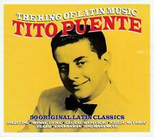 TITO PUENTE - THE KING OF LATIN MUSIC - 50 ORIGINAL CLASSICS  (NEW SEALED 2CD)