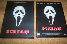 DVD FIN COFFRET en relief SCREAM film horreur de wes craven
