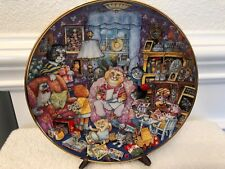 Franklin Mint Heirloom Collection - Purrfect Mom by Bill Bell Limited Edition