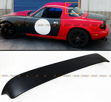 Fits 90-97 Mazda Miata NA JDM ABS Rear Window Roof Spoiler Visor Wing Deflector