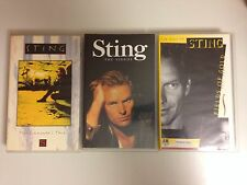 LOT 2 K7 VIDEO VHS SPECIAL STING