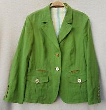La fábrica de ropa Habsburg BLAZER chaqueta lino talla usado 44 en talla 42!!!