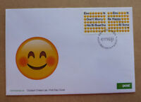 2017 IRELAND EMOJI STAMP ISSUE FDC FIRST DAY COVER