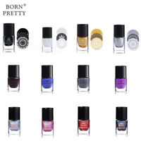 Born Pretty Nail Art Stamping Polish Printing Holographics Varnish  Decor