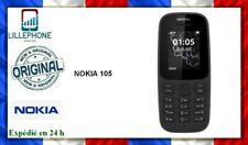 Nokia 105 Noir débloqué + chargeur + boite + garantie 6 mois