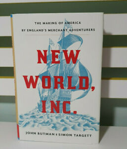 NEW WORLD INC JOHN BUTMAN SIMON TARGETT BOOK