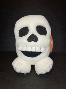 Puffkins Stuffed Animals Limited Edition Halloween Skully Collectibles SWIBCO