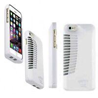 Ampfly MTV Speaker Base Rugged Case Patented Design For Apple iPhone 5 White