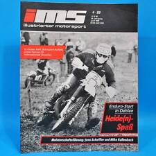 DDR Illustrierter Motorsport IMS 4/1989 Melkus RS 1000 Suzuki RM 250 Audi 200 H