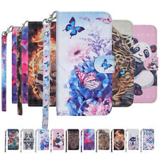 Fashion Painted Wallet Phone Case Cover For Huawei Nova 4 3i 2i P Smart Enjoy 7