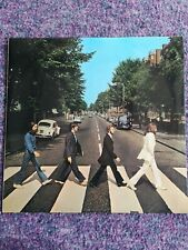 Beatles Abbey Road LP UK 1st Pressing (No Her Majesty)