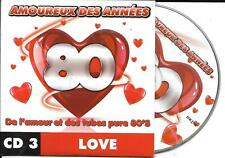 CD CARDSLEEVE 80's LOVE 18T TUCKER/F.R. DAVID/VALERIE DORE/PARIS/REED/CENTURY