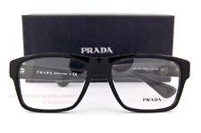 Brand New Prada Eyeglass Frames PR 17SV 1AB 1O1 Black for Men Size 55