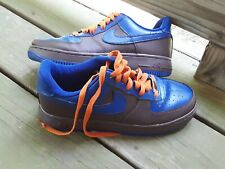 competitive price 30796 f1b8f NIKE AF1 306353 123 Sneakers Mens size 6.5 Air Force 1 Womens size 8 NY  Knicks