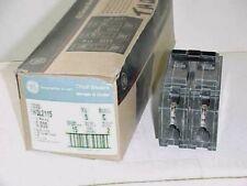 New Ge Circuit Breaker Plug-In Type Thql2115 15 Amp 2 Pole 15A 2P