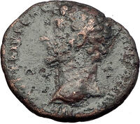 MARCUS AURELIUS as Caesar 156AD Rome Minerva Authentic Ancient Roman Coin i60754