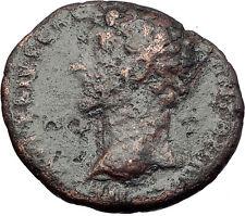 MARCUS AURELIUS as Caesar 156AD Rome Minerva Authentic Ancient Roman Coin i60754