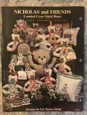 Nicholas and Friends Counted Cross Stitch Bears