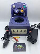 Nintendo Gamecube Konsole - Lila - Controller - Anschlusskabel - gebraucht - #28