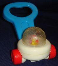 GL103 Vtg Fisher Price Mini Push Popper Toy
