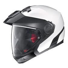 Casco Helmet Casque Helm Nolan N40 Full Special Plus N-Com Pure White Tg XS