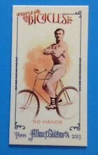 2013 TOPPS Allen & Ginter . MINI  PEOPLE ON BICYCLES . #POB-NH . RARE . 1/ CASE