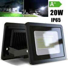 2 Pack 20W LED Flood Light Outdoor Spotlight Garden Yard Square 6000K Cool White