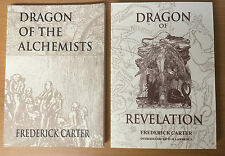 Frederick Carter : 2 Books — Dragon of Revelation & Dragon of the Alchemists