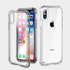 Shockproof 4 Corner Case Gel Cover for Apple iPhone XR - Clear