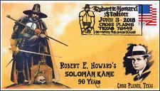 18-130, 2018, Robert E Howard, Solomon Kane, Pictorial, Event Cover,