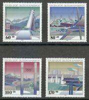 Germany 1993 MNH Mi 1650-1653 Sc B741-B744 Olympic sports buildings **