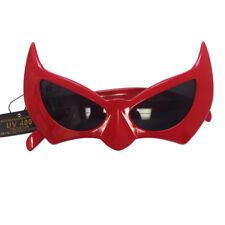5dacfbce9f Batman Sunglasses Red Batgirl Catwoman Bat Cat Style Superhero Costume