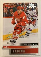 FILIP ZADINA SUPER SCRIPT 21/25 2019-20 MVP STANLEY CUP EDITION ROOKIE RED WINGS