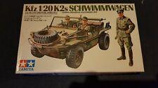 1/35 TAMIYA No.3,German Kfz.1/20 K2s Vw Schwimmwagen 70er Jahre,Zensiert.!!!