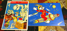 Vintage 1979 & 1982 Bugs Bunny tray puzzle lot of 2 Looney Tunes