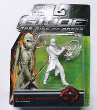 2009 Storm Shadow - Mint on Card - Rise of Cobra - Metal Keychain