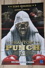 Filmposter Filmplakat DINA1 A1 - Phantom Punch - Sonny Liston (Boxen) - Neu